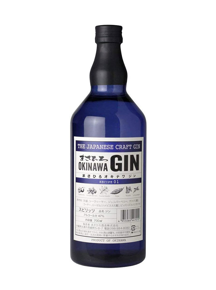 Ginebra Masahiro Okinawa Japanese Craft Gin 3